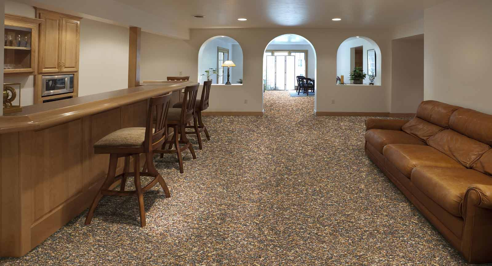 NATURE STONE Basement Flooring Nature Stone - What is the best flooring to use in a basement