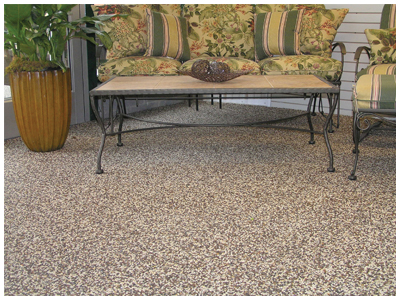 Nature Stone Patio Floor