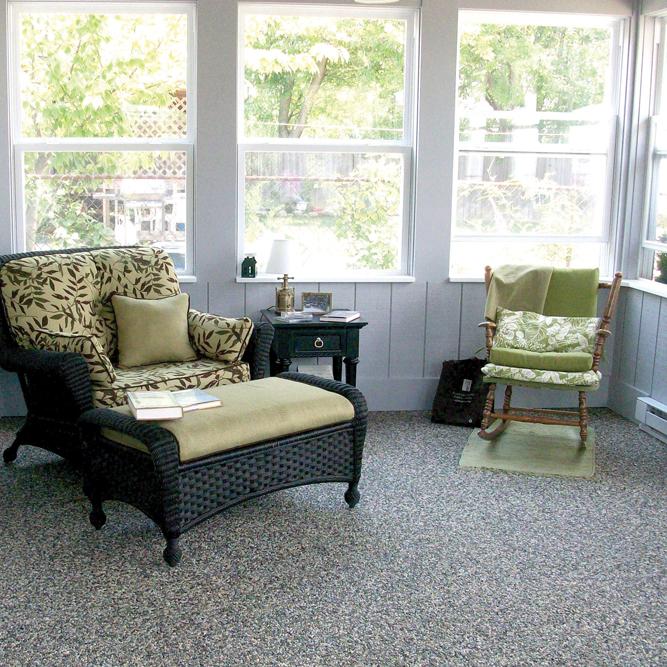 Nature Stone Sunroom Flooring