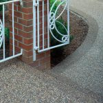Nature Stone Front Walkway Gate