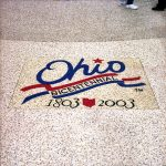Ohio Bicentennial Custom Flooring Logo