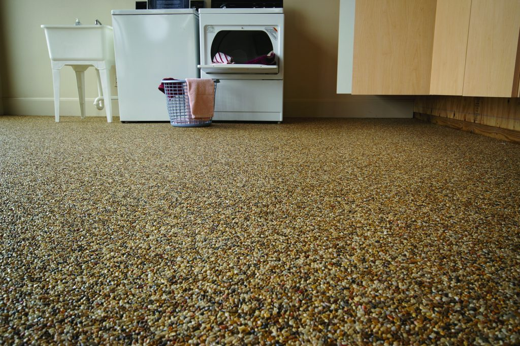 Tough laundry room flooring options for Nature flooring