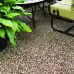 Nature Stone Flooring Outdoor Patio Area