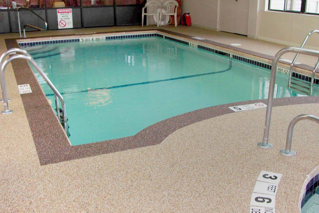 Indoor Pool Deck At Best Western Dunkirk